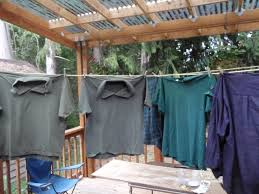 Build Small House by How To Build A Diy Decking Cover Permaculture Magazine