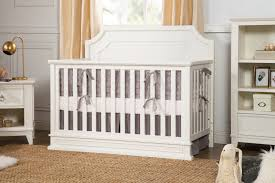Million Dollar Baby Convertible Crib Regency 4 In 1 Convertible Crib In Warm White Million