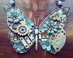 flowers with butterfly necklace images 209 best blue butterfly objects reimagined images jpg
