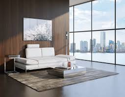 buy modern sofa white sullivan premium sofa with reclining headrests