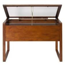 Glass Top Drafting Drawing Table Drafting Table With Drawers Foter
