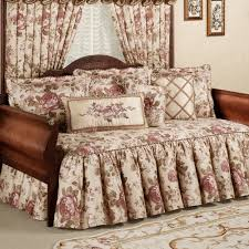 Daybed Comforter Set Bedroom Ideas Perennial Floral Bedding For Enchanting Daybed