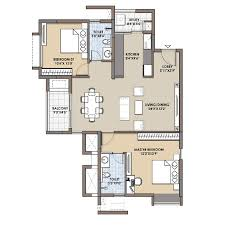 2bhk floor plans 2 bhk 3 bhk flats floor plans fortius infra bangalore