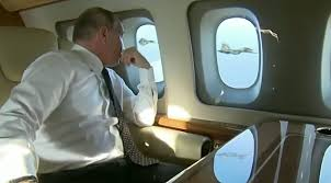 putin s plane vladimir putin u0027s priceless reaction to fighter escort frontline