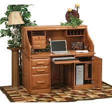 Traditional Computer Desks Roll Top Computer Desks Traditional Roll Top Computer Desk 56