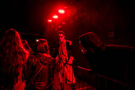saw at halloween horror nights photos inside universal studios u0027 creepy halloween horror nights
