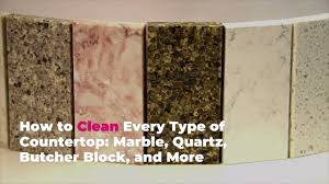 can you use to clean countertops how to clean every type of countertop marble quartz butcher block and more