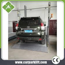 Basement Car Lift Double Parking Car Lift Double Parking Car Lift Suppliers And