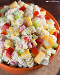 cold pasta dish creamy cheddar pasta salad recipe pasta salad cheddar and pasta
