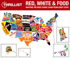Fast Mapping Mapping The Most Iconic Fast Food By State Us Only0 1000x837