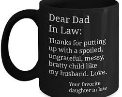 father in law gift father in law mug father in law father