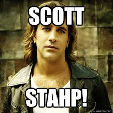 Scott Stapp Meme - creed singer thinks he s cia with a mission to kill obama outside
