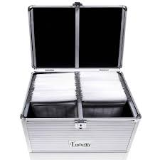 small cd dvd aluminium storage box case u2013 store 84