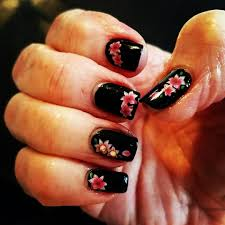 devil nail designs choice image nail art designs