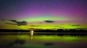 can you see the northern lights in maine northern lights put on a show in new england cbs boston