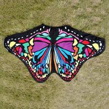 fashion chiffon butterfly cover up towel oasap com