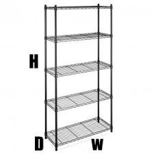 standing shelf units foter