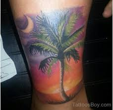palm tree tattoos designs pictures page 2