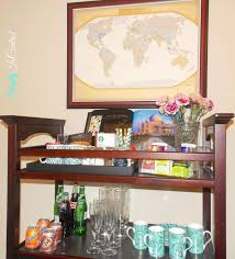 Changing Table Shelves by Simply In Control Repurposing Baby Changing Tables To Beverage Carts