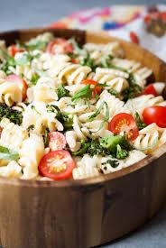 What Is Pasta Salad Grilled Broccolini Corn U0026 Tomato Pasta Salad