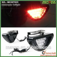 led strobe light kit 12volt flashing motorbike rear brake l motorcycle led strobe