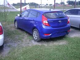 2014 hyundai accent for sale 2014 hyundai accent 4 door blue hatch for sale in valle tx