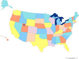united states map with all the states and cities map of usa showing all states and major cities maps usa showy the
