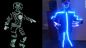 Glow Dark Halloween Costumes Smartphone Wounds Tech Halloween Tricks Cnn
