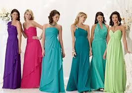 bridesmaid dress ideas colorful bridesmaid dresses ideas jpg