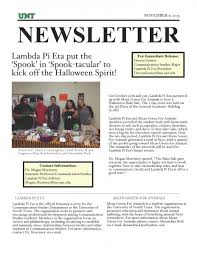 lambda pi eta november newsletter communication studies