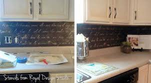 kitchen stencil ideas kitchen stenciling ideas 2 diy stencil projects to try royal