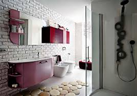 Bathroom With Wallpaper Ideas by Wallpaper Accent Wall Retro Home Decor Ideas Retro Modern