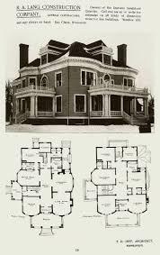 Vintage House Blueprints 28 Victorian Floor Plans Farmhouse House Historic Mab Hahnow