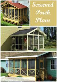 covered porch plans screened in porch plans to build or modify