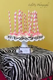 zebra baby shower decorations ideas