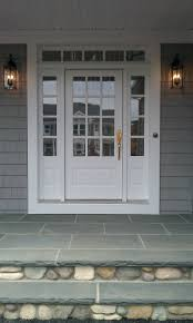 Patio Doors With Venting Sidelites by Best 25 Exterior Doors With Sidelights Ideas On Pinterest Entry
