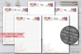 Printable Halloween Stationary Printable Notes Planner Pages Amistyle Digital Art
