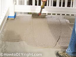 How Thick For Concrete Patio How To Restore Concrete Patio And Fix Patio U0027s That Have Low Areas
