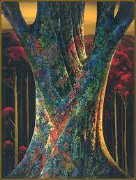 majestic tree eyvind earle wikiart org