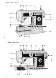 index of sewing machine manuals sewing machine manual pics