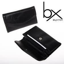 Business Card Case Leather 2 Buxton Black Faux Leather Snap Business Card Case Holder Wallet