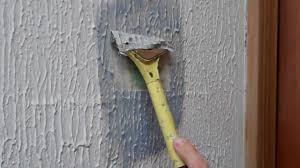 Asbestos Popcorn Ceiling Year by Removing Artex Using X Tex Youtube