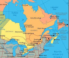 map canada east coast east coast of canada map map canada east travel maps and major