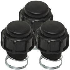 oregon 3 pack bump head knob assembly for ryobi 791 181468b 55