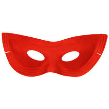satin cat eye mask red mardigrasoutlet com
