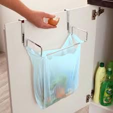 porte poubelle cuisine le support de porte pour sac poubelle