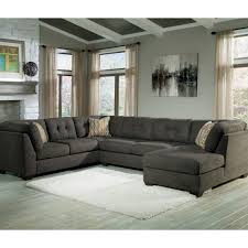 Ashley Furniture West Palm Beach by Benchcraft Delta City 3 Pc Sectional Sofa With Raf Chaise
