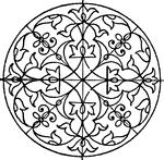 renaissance ornament clipart etc