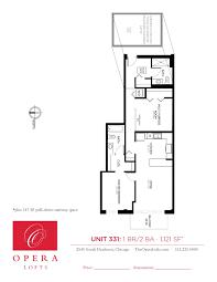 multi unit floor plans opera lofts one bedroom