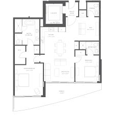 Antilla Floor Plan by Aurora Sunny Isles Beach New Condos For Sale Bogatov Realty
